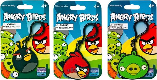 Angry Birds Klipsi - Musta - Lelut24