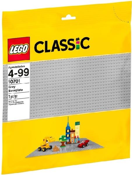 Lego Classic 10701 Harmaa Rakennuslevy