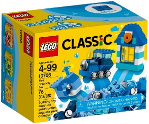 Lego Classic 10706 Sininen Luovuuden Laatikko