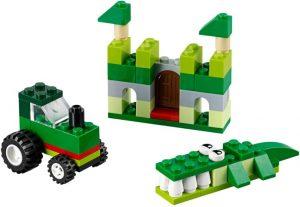 Lego Classic 10708 Vihreä Luovuuden Laatikko
