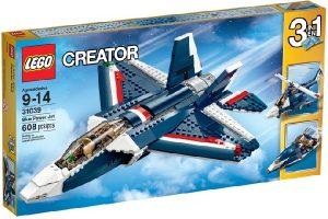 Lego Creator 31039 Sininen Suihkulentokone