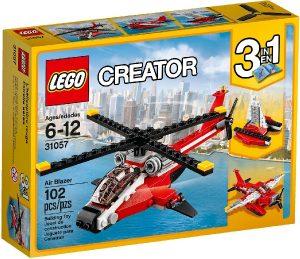 Lego Creator 31057 Tulipunainen Helikopteri