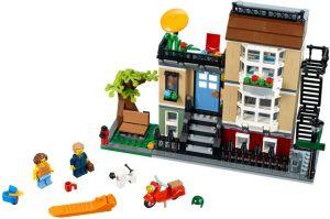Lego Creator 31065 Puistokadun Kaupunkirivitalo