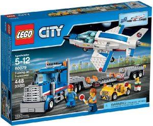 Lego City 60079 Harjoituslentokoneen Kuljetusauto