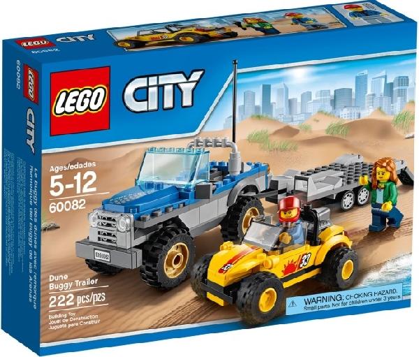 Lego City 60082 Kirppumaasturin Perävaunu