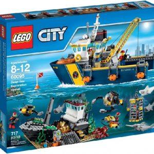 Lego City 60095 Syvänmeren Tutkimusalus