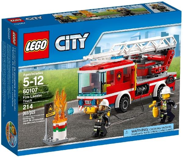 Lego City 60107 Tikaspaloauto