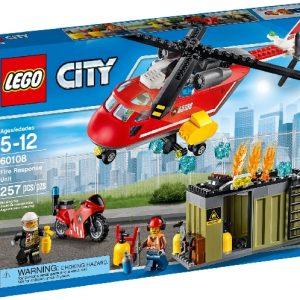 Lego City 60108 Palokunnan Ensivasteyksikkö