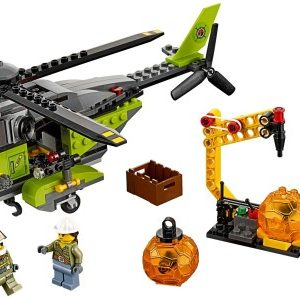 Lego City 60123 Tulivuoren Jakeluhelikopteri