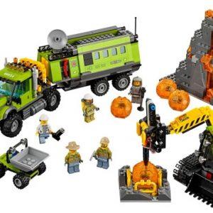 Lego City 60124 Tulivuoren Tutkimustukikohta