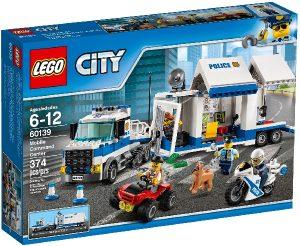 Lego City 60139 Liikkuva Komentokeskus