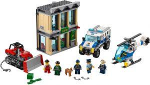 Lego City 60140 Puskutraktorin Sisäänajo