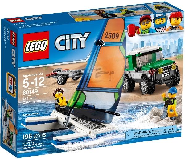 Lego City 60149 Neliveto ja Katamaraani