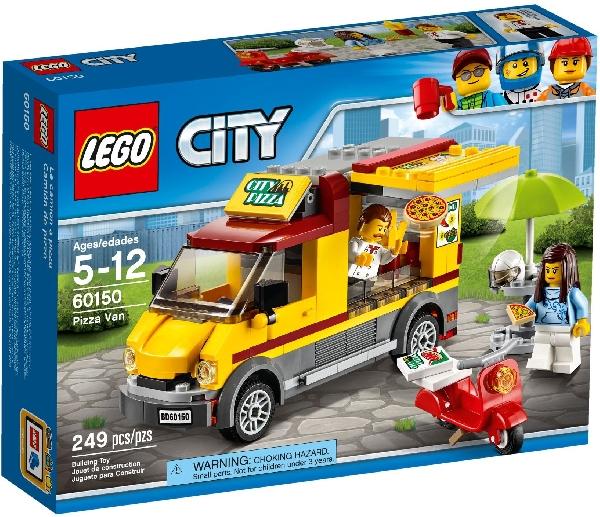 Lego City 60150 Pizza-auto