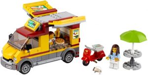 Lego City 60150 Pizza-auto