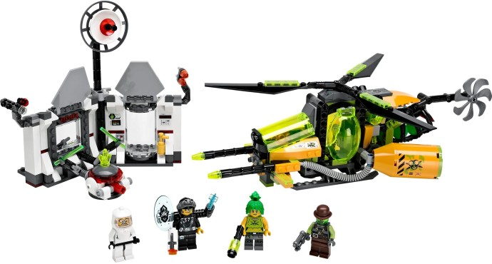 Lego Agents 70163 Toxikitan Myrkkysulattaja
