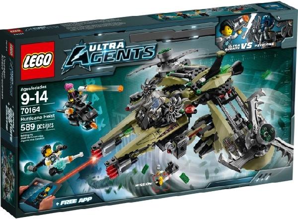 Lego Agents 70164 Hurrikaaniryöstö
