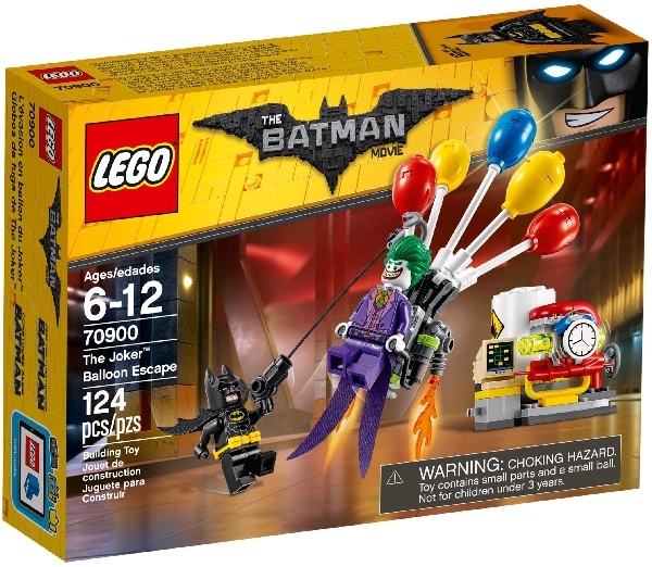 Lego Batman Movie 70900 Jokerin Ilmapallopako