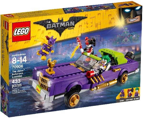 Lego Batman Movie 70906 Jokeri ja Pahamaineinen Matala-auto