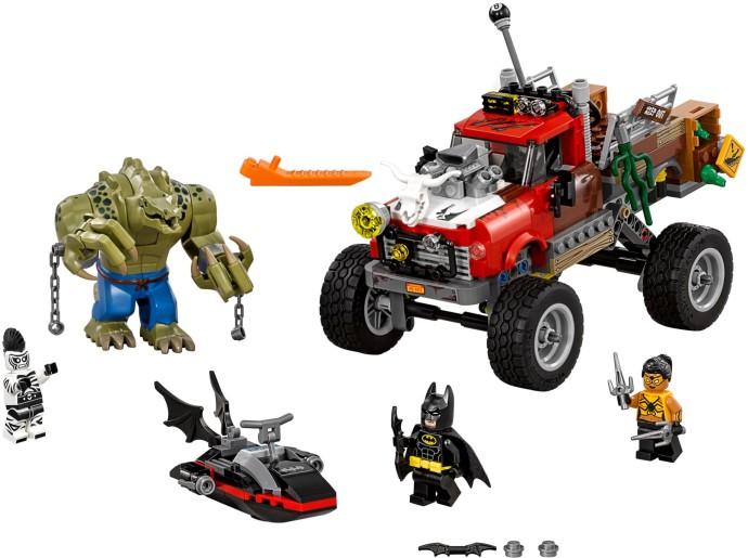 Lego Batman Movie 70907 Killer Croc ja Varjostaja-Alligaattori