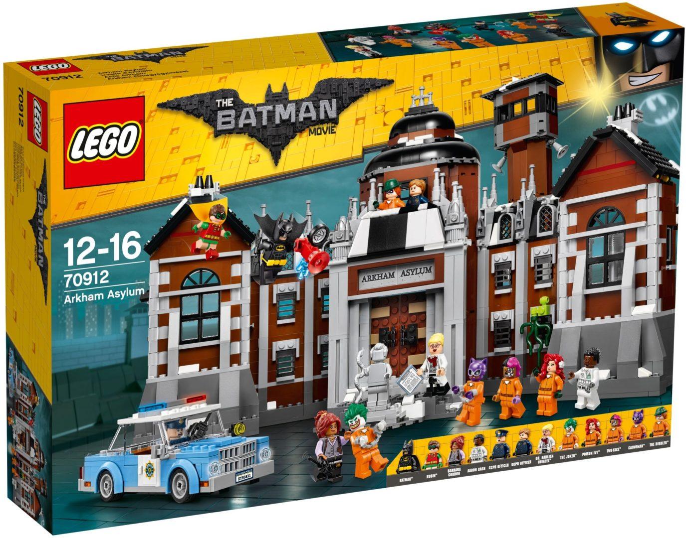Lego Batman Movie 70912 Arkham Asylum