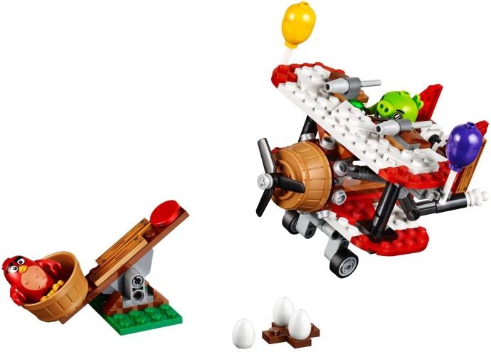 Lego Angry Birds 75822 Possukonehyökkäys - Lelut24