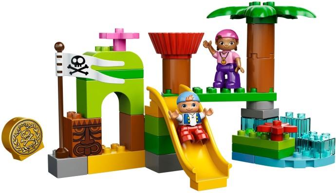 Lego Duplo Jake 10513 Mikä-Mikä-Maan Piilopaikka