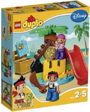 Lego Duplo Jake 10604 Jake ja Mikä-Mikä-Maan Merirosvojen Aarre