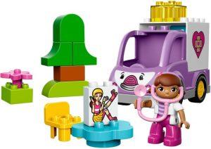 Lego Duplo Doc McStuffins 10605 Rosie Ambulanssi