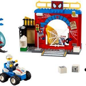 Lego Juniors 10687 Spider-Manin Piilopaikka