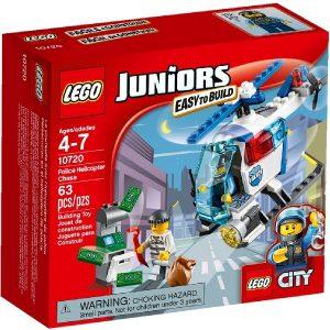Lego Juniors 10720 Takaa-ajo Poliisihelikopterilla