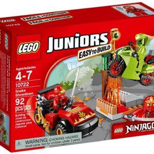 Lego Juniors 10722 Ninjago Käärmetaistelu