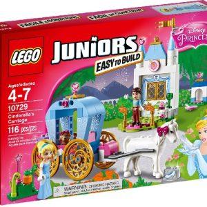 Lego Juniors 10729 Disney Prinsessa Tuhkimon Vaunut