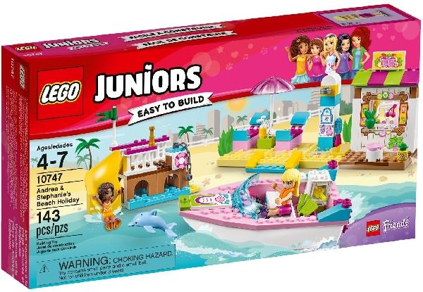 Lego Juniors 10747 Andrean ja Stephanien Rantaloma
