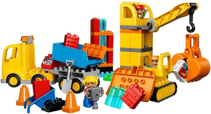 Lego Duplo 10813 Iso Rakennustyömaa