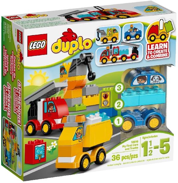 Lego Duplo 10816 Ensimmäiset Ajoneuvoni