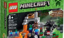 Lego Minecraft 21113 Luola
