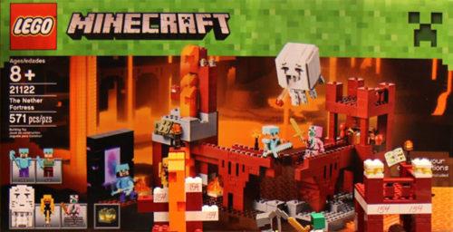 Lego Minecraft 21122 Nether Linnake