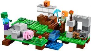 Lego Minecraft 21123 Rautajätti