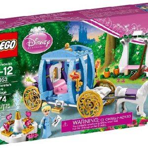 Lego Disney Princess 41053 Tuhkimon Lumottu Vaunu