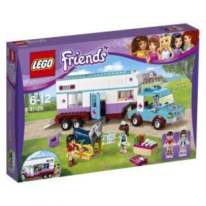 Lego Friends 41125 Eläinlääkärin Hevoskuljetusvaunut