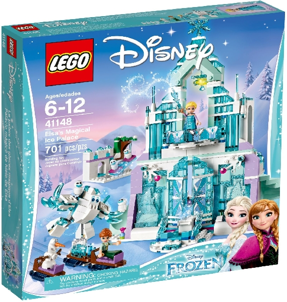 Lego Disney Princess 41148 Elsan Maaginen Jääpalatsi