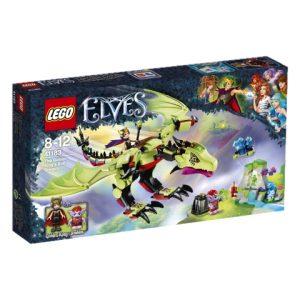 Lego Elves 41183 Menninkäiskuninkaan Ilkeä Lohikäärme