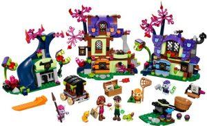 Lego Elves 41185 Taianomainen Pelastus Menninkäisten Kylästä