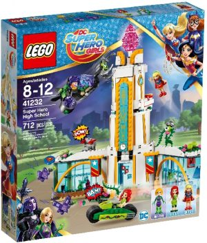 Lego DC Super Heroes Girls 41232 Supersankarien High School