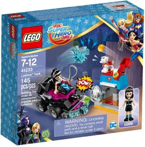 Lego DC Super Heroes Girls 41233 Lashina ja Tankki