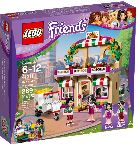 Lego Friends 41311 Heartlaken Pizzeria