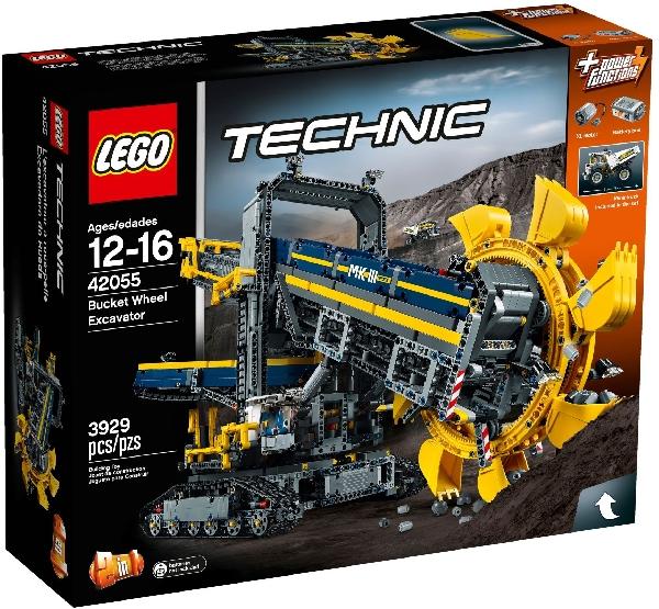 Lego Technic 42055 Pyörökauhakaivinkone