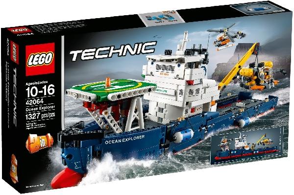 Lego Technic 42064 Valtameriristeilijä