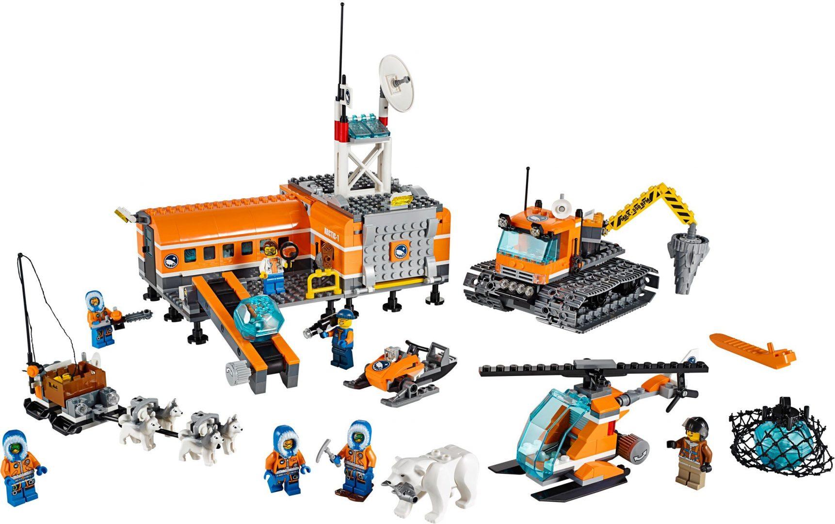 Lego City 60036 Arktinen Tukikohta